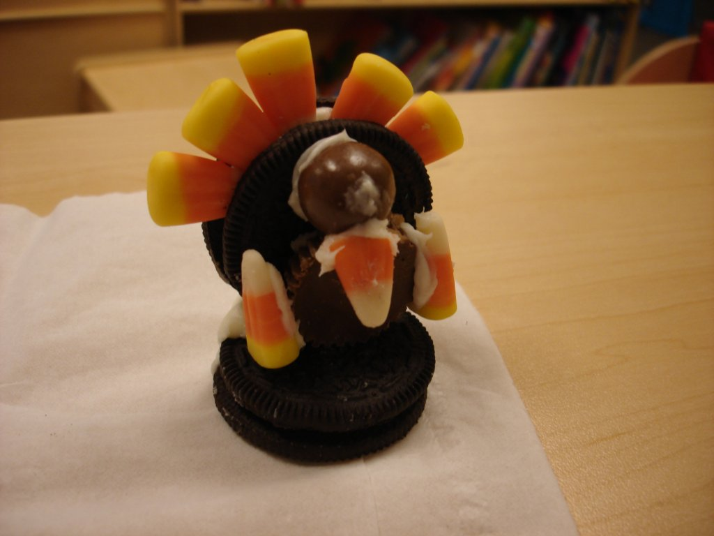 The Owls prepared their own version of Thanksgiving turkeys a few days before the holiday.