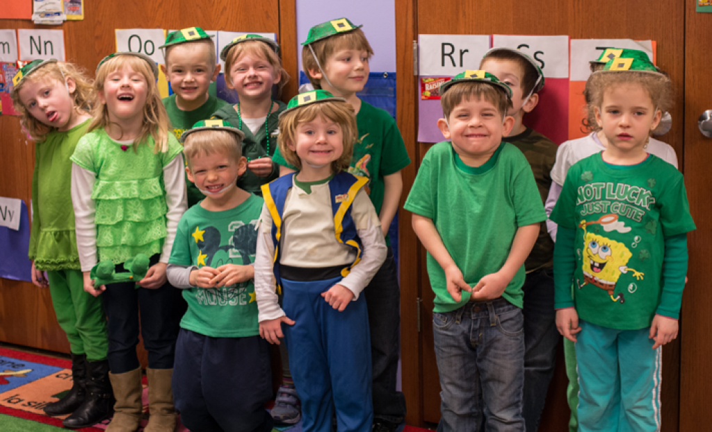 Celebrating St. Patrick's Day in Preschool!