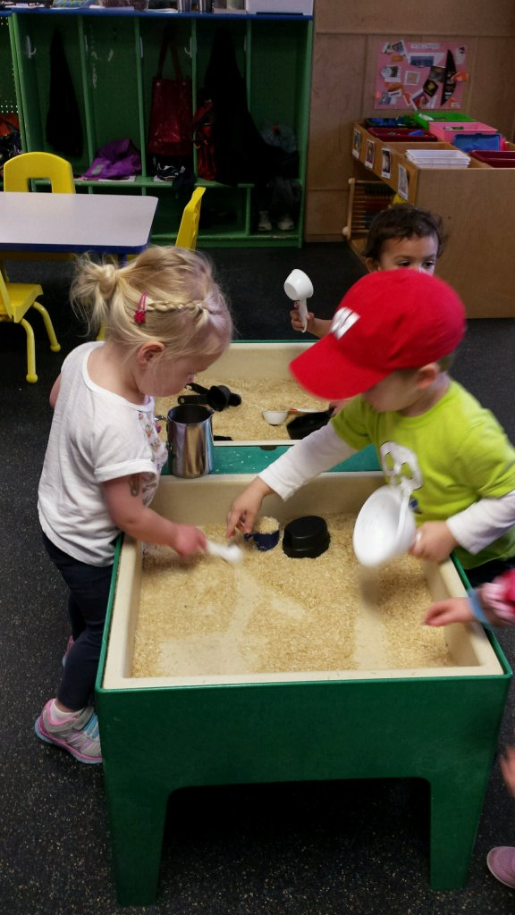 We love our sensory table!